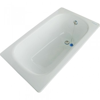 Чугунная ванна 1300х700 Zodiak с ножками