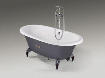 Чугунная ванна Roca Newcast Grey 233650000 170х85
