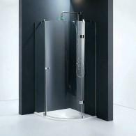 Одностворчатая распашная дверь Venera 90x90x185