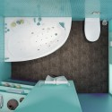 Акриловая ванна Изабель 1700x1000 Triton (правая)