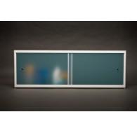 Экран под ванну 1900, 2000х500 матовый голубой A-Screen