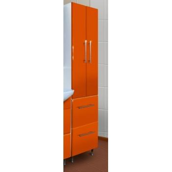 Шкаф - пенал 430 Ф4 (оранж)