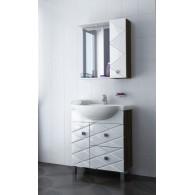 Комплект мебели Aqualife Design Чикаго 70 с 2/ящиками с умывальником Cersanit 70
