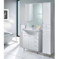 Комплект мебели Aqualife Design Осло 70 с 4/ящиками с корзиной c умывальником Cersanit 70