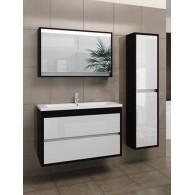 Комплект мебели EDELFORM CONSTANTE / Константе 100 (венге, белый глянец)