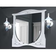 Зеркало EDELFORM LUISE / Луиза 100 (белый, матовый)
