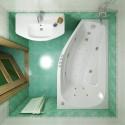 Акриловая ванна Скарлет 1670x960 Triton  (левая)