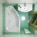 Акриловая ванна Скарлет 1670x960 Triton (правая)