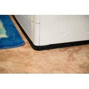 Антивибрационный резиновый коврик под стиральную машину толщина 25мм размер 400х600 мм