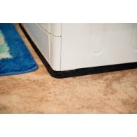Антивибрационный резиновый коврик под стиральную машину толщина 25мм размер 600х600 мм