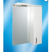 Зеркальный шкаф со светильником №2-55 Ф2