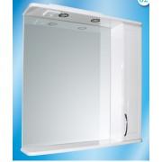 Зеркальный шкаф со светильником №3-84 Ф1