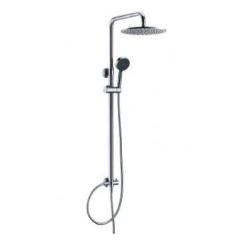 Душевой комплект WasserKraft A026 87/129х62 см, хром