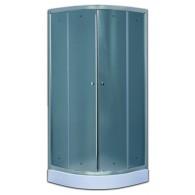 Душевой уголок 100х100 Timo TL-1101 FABRIC GLASS