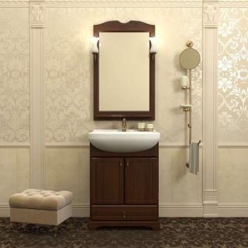 Комплект мебели для ванной комнаты КЛИО 65 Opadiris (орех антикварный)