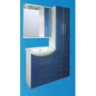 """Мебель для ванной комнаты Сатэм """"СЕРО-ГОЛУБОЙ"""""""