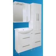 """Мебель для ванной комнаты Сатэм """"БЕЛЫЙ ТЕХНО"""""""