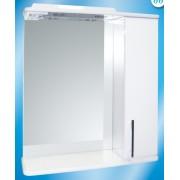 Зеркальный шкаф со светильником №3-65 Ф4 (техно) L/R