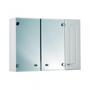 Зеркальный шкаф 3-х створчатый Ф4