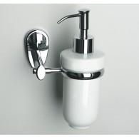 Дозатор для жидкого мыла керамический 160 мл WasserKRAFT Main К-9200 арт.К-9299С