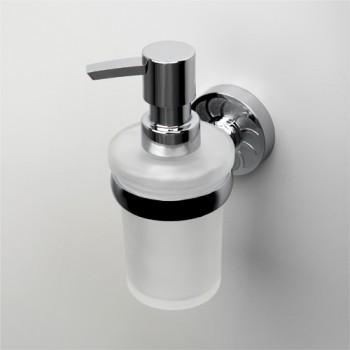 Дозатор для жидкого мыла стеклянный WasserKRAFT  Isen К-4000 арт.К-4099