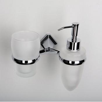 Держатель стакана и дозатора WasserKRAFT Aller К-1100 арт. K-1189