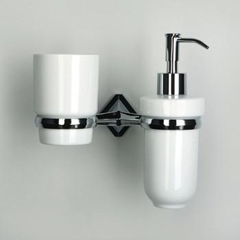 Держатель стакана и дозатора WasserKRAFT Aller К-1100 арт. K-1189С