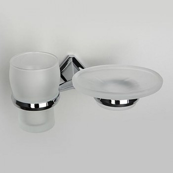 Держатель стакана и мыльницы WasserKRAFT Aller К-1100 арт. K-1126