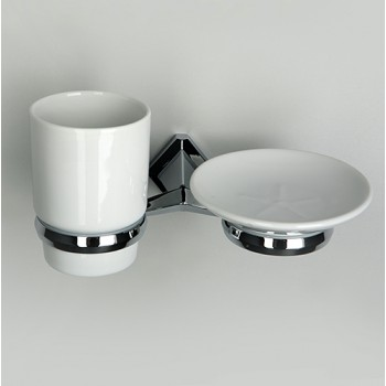 Держатель стакана и мыльницы WasserKRAFT Aller К-1100 арт. K-1126С