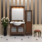 Комплект мебели для ванной комнаты БОРДЖИ 105 (массив бука) светлый орех