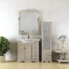 Комплект мебели для ванной комнаты КЛИО 85 Opadiris (белый)