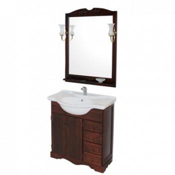 Комплект мебели для ванной комнаты КЛИО 85 Opadiris (орех антикварный)