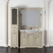 Комплект мебели для ванной комнаты РИСПЕКТО 100 Opadiris (белый или слоновая кость)