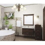 Комплект мебели для ванной комнаты ГАРДА 90 (орех антикварный)
