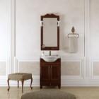 Комплект мебели для ванной комнаты ТИБЕТ 50 Opadiris (орех антикварный) решетка