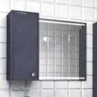 Шкафчик зеркальный EDELFORM NOTA / Нота 75 (серый, глянец)