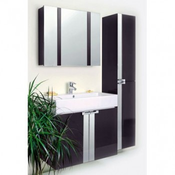 Комплект мебели Edelform FRESH / ФРЕШ 60 (антрацит, глянец)