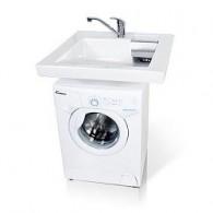 """Раковина для стиральных машин Кувшинка """"Кватро"""" 60х60"""