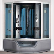 Душевая кабина 150x150 с гидромассажем Oporto Shower 8426(комфорт)