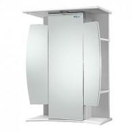 Шкафчик зеркальный Валенсия с полками и светильником