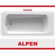 Ванна акриловая Diana 160х70 Alpen