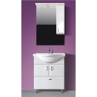 Комплект мебели для ванной комнаты Аквалина 70 (белый) BELUX