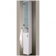 Шкаф - пенал Аквалина П 20 L/R (белый) BELUX