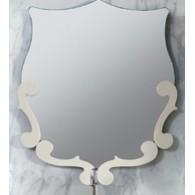 Зеркало Вена В 90 BELUX (слоновая кость/матовый)