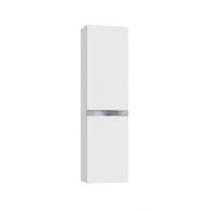 Шкаф - пенал Вергина 40 (белый/серый перламутр) BELUX