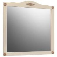Зеркало Верди В 105 (слоновая кость/золотая патина) BELUX