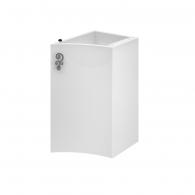 Тумба приставная Версаль НП 30 L/R (белый/глянец) BELUX
