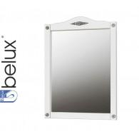 Зеркало Империя В 105 (64 - белый/матовый патина/серебро) BELUX