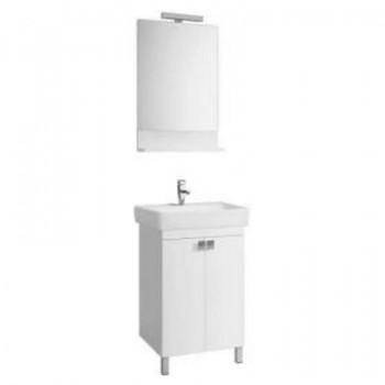 """Комплект мебели для ванной комнаты Импульс Н 55 BELUX с умывальником """"Импульс 600"""""""
