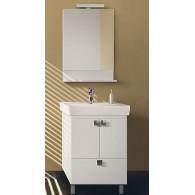 """Комплект мебели для ванной комнаты Импульс Н 55 - 01 BELUX с умывальником """"Импульс 600"""""""